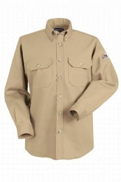 Flame Resistant Blend Work Shirts