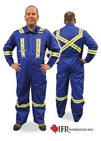 Flame Resistant Cotton Coveralls