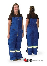 Flame Resistant Cotton Bib Overalls