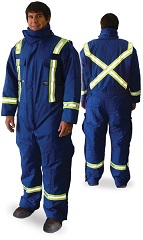 Flame Resistant Cotton Insulated Coveralls